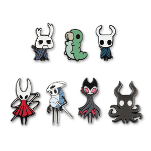 Hollow Knight Enamel Pin 7-Pack