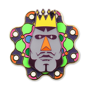 King of All Cosmos Spinning Pin