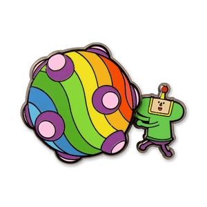 The Prince & Katamari Spinning Pin