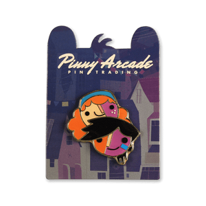 Knights and Bikes Pinny Arcade Pin