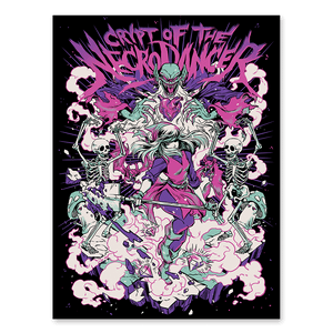 Crypt of the NecroDancer Blacklight Poster