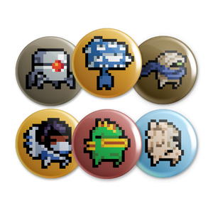 Nuclear Throne Button Set 1