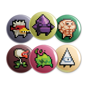 Nuclear Throne Button Set 2