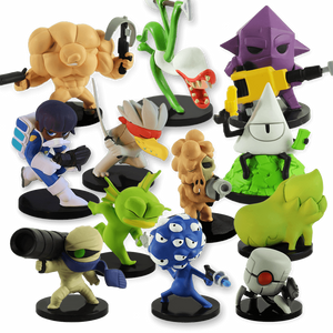 Nuclear Throne Figurine Set