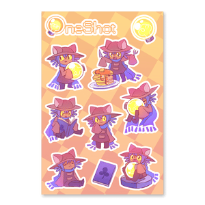 Niko Sticker Sheet