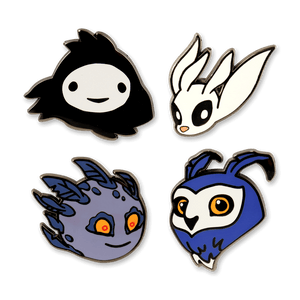 Forest Dwellers Pin Set