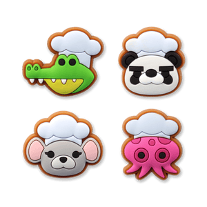 Overcooked PVC 4-Pin Set Series 2