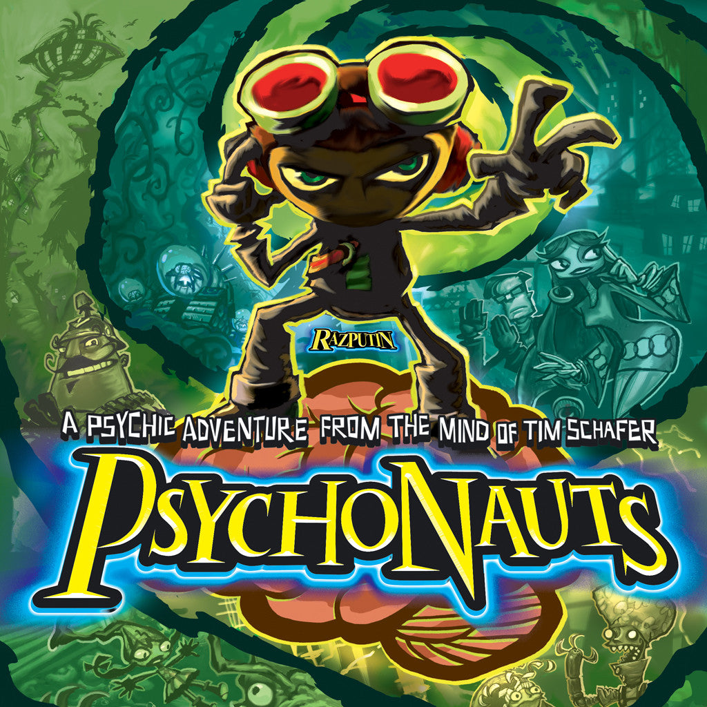 Psychonauts Poster Unsigned Amp Signed Fangamer