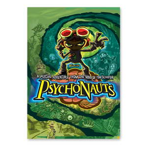 Psychonauts Poster (unsigned & signed)