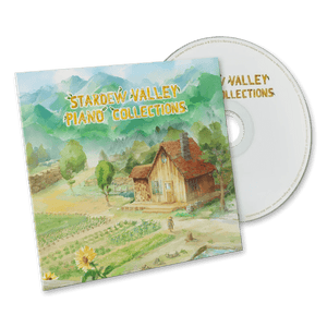 Stardew Valley Piano Collections Limited-Edition CD