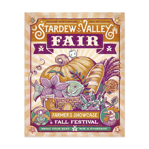 Stardew Valley Fair Poster