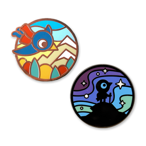 Soaring Vistas Pin Set