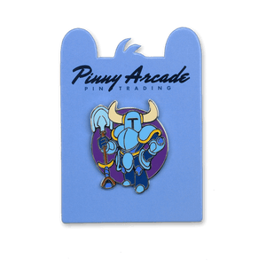 Shovel Knight Pinny Arcade Pin
