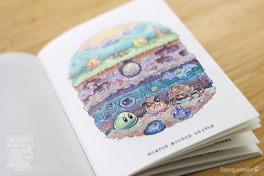 junimo coloring book