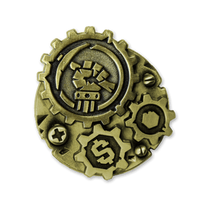 Gears of Industry Lapel Pin