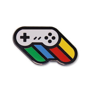 Super Controller Lapel Pin