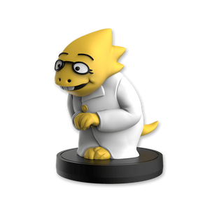 Alphys Little Buddy