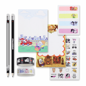UNDERTALE Stationery Set