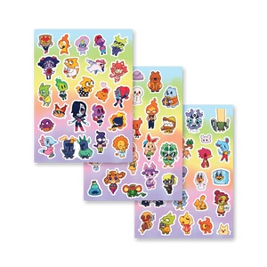 New Friends Sticker Sheets Set 1