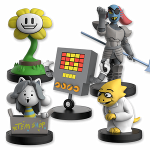 UNDERTALE Little Buddies - Series 2 Complete Set