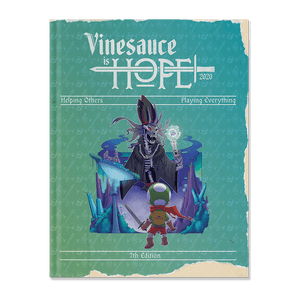 Vinesauce is HOPE 2020 Magazine