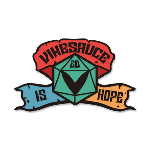 Vinesauce is HOPE 2020 Pin