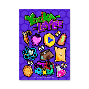 Yooka-Laylee Sticker Sheet