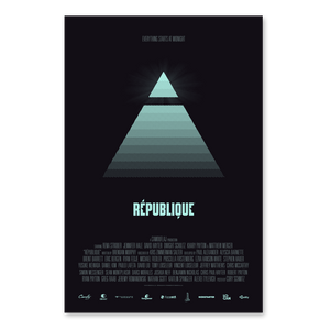 République + Midnight Poster