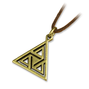 Antiqued Trinity Pendant