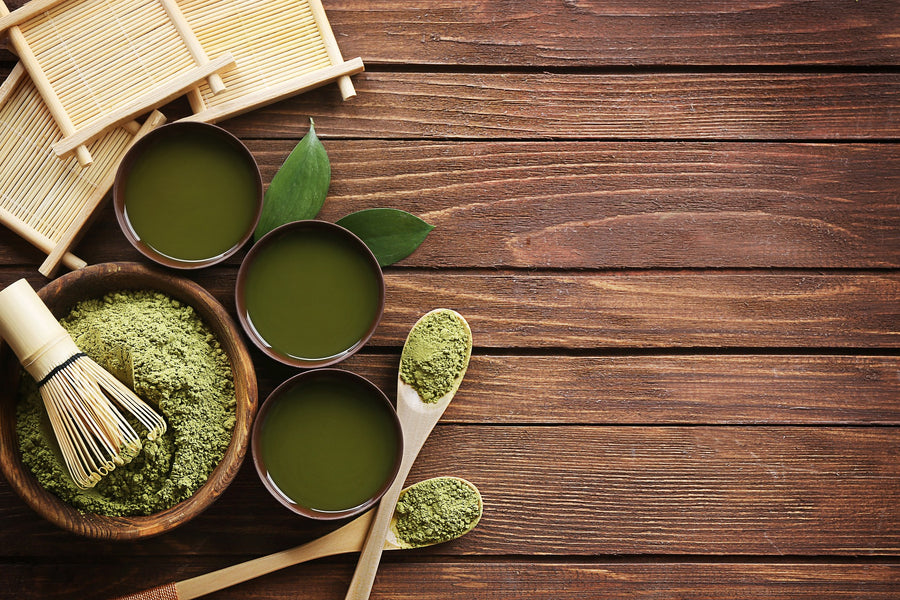 The difference between Matcha and regular Green Tea