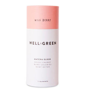 Well and Green Wild Berry Mini Matcha Pack