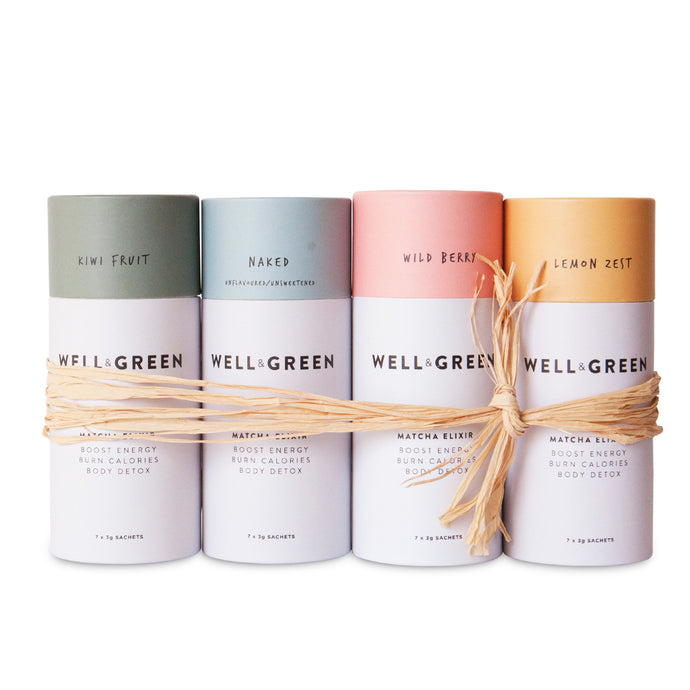 Well and Green Matcha Mini Bundle