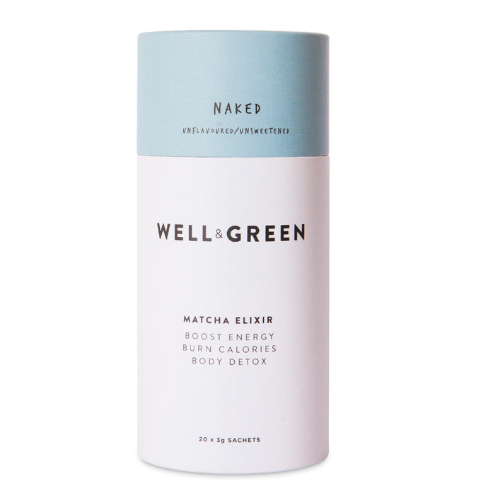 Well and Green Naked Matcha Elixir