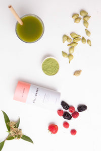 Well and Green Wild Berry Matcha Ingredients