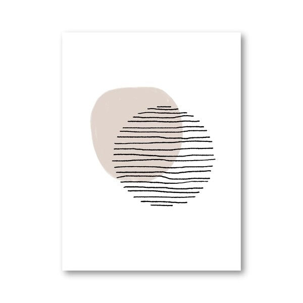 Circle Geometric Wall Art