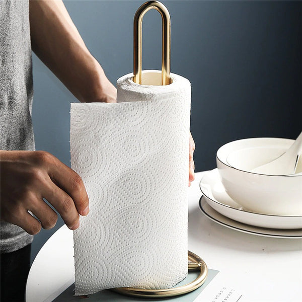 Gold Plated Paper Towel Holder