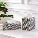 Ancona Mosaic Tissue Box Cover
