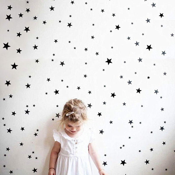Children's Star Wall Sticker Pack