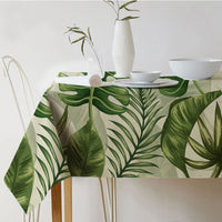 Tropical Plant Tablecloth
