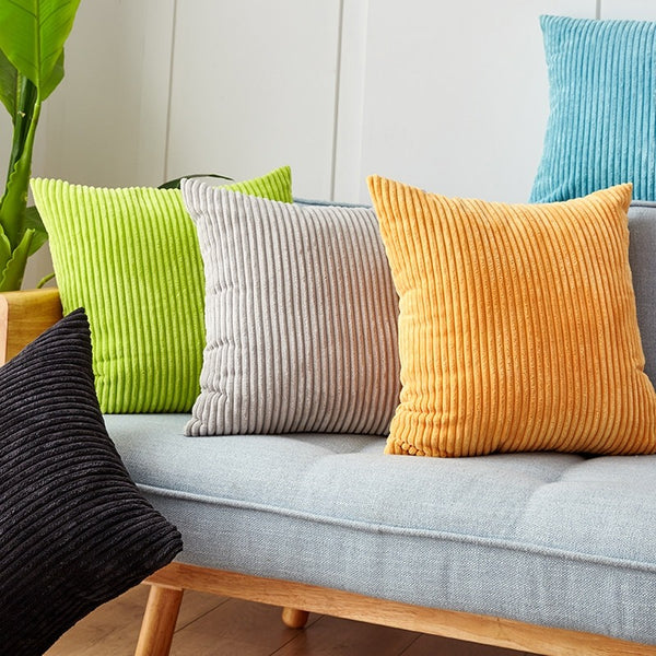 Velvet Corduroy Cushion Cover