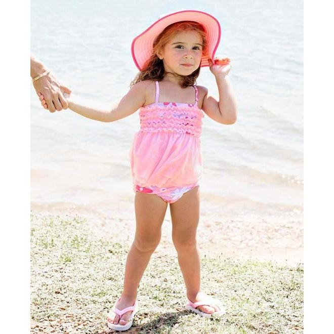 Baby and Toddler Happy Petals Mesh Tankini-OneTrail Gear