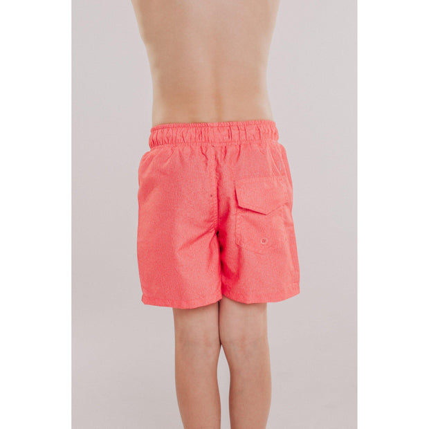Boys Solid Beach Short (Coral)-OneTrail Gear