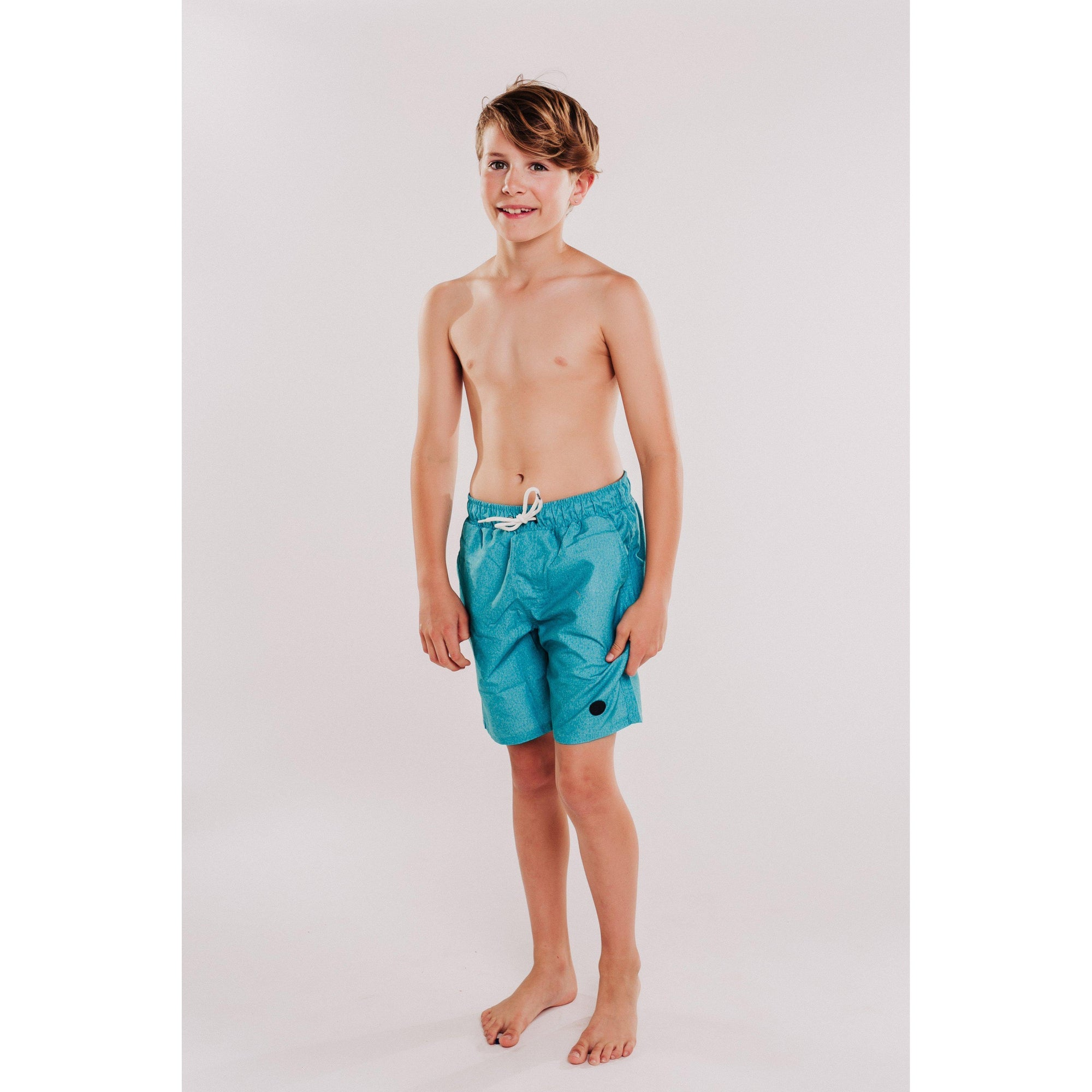 Boys Solid Beach Short (Mint)-OneTrail Gear