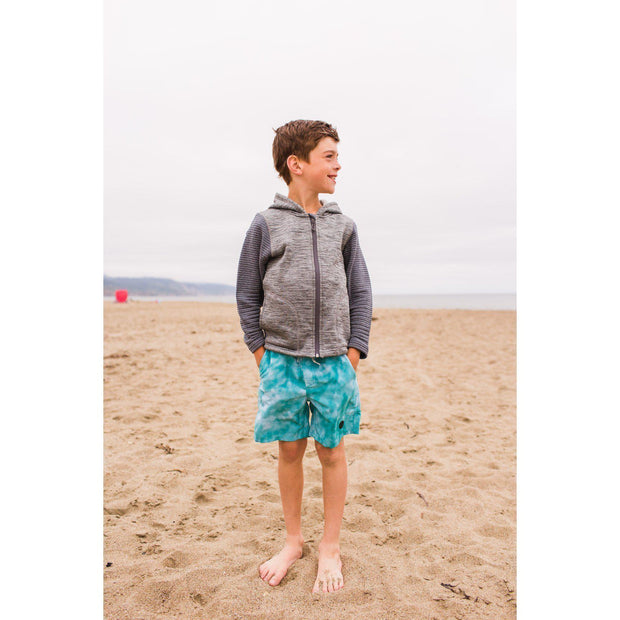 Boys Tie Dye Beach Short | Mint-OneTrail Gear