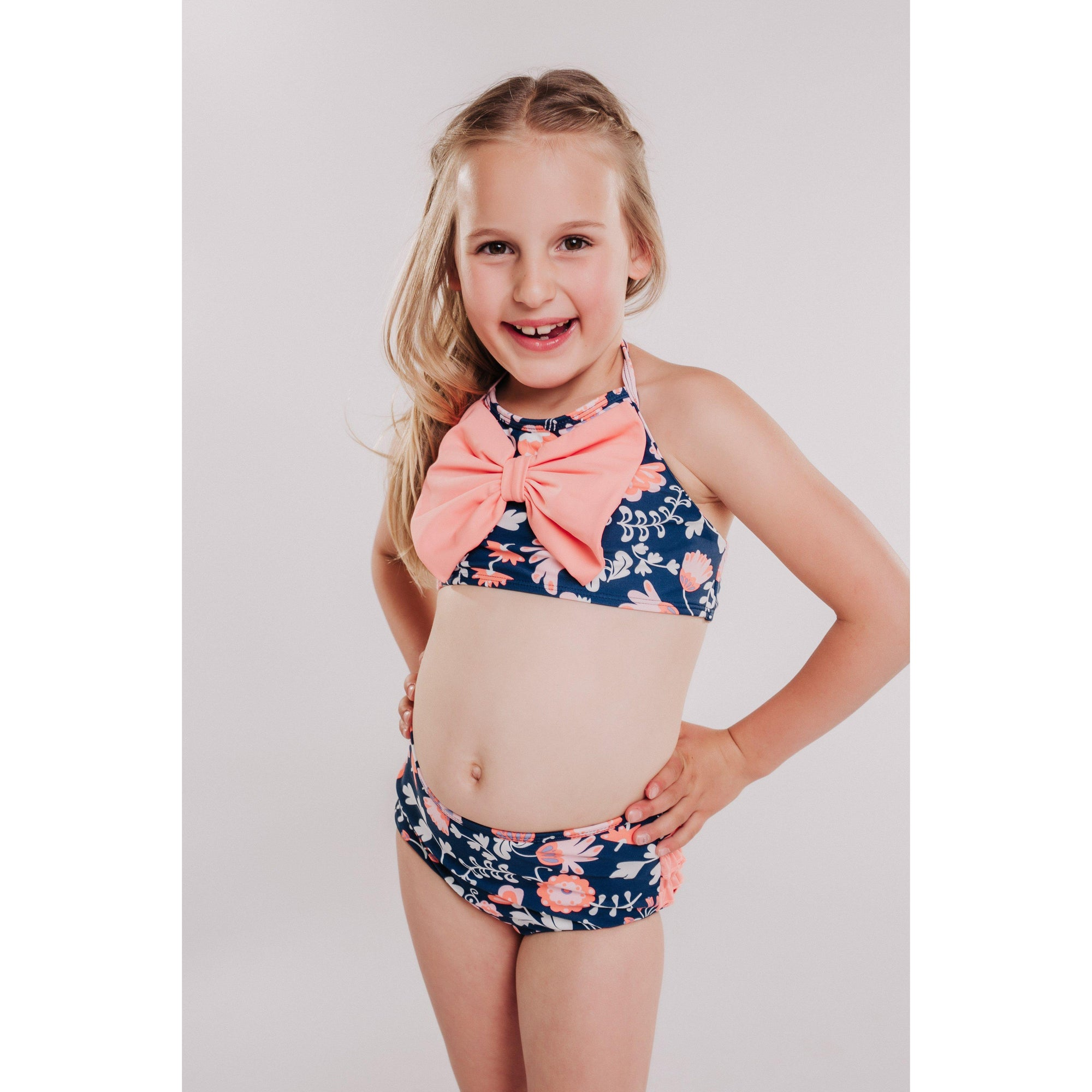 Girls Bow Bikini Botanical Beach-OneTrail Gear