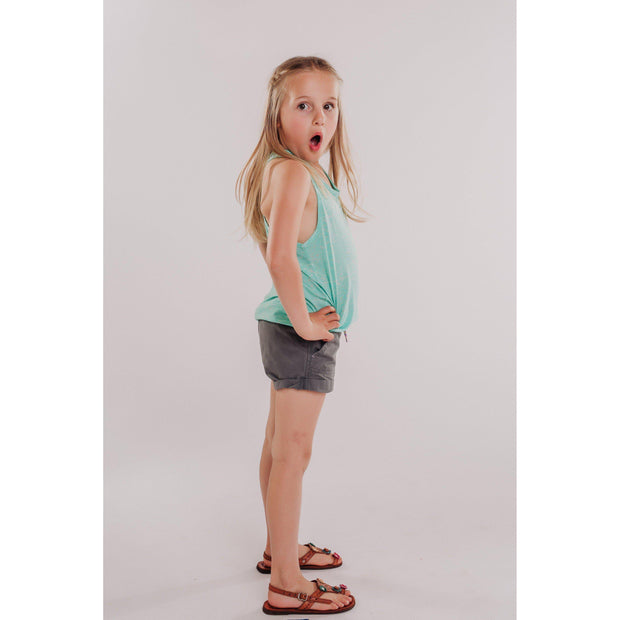Girls Burnout Racerback Tank-OneTrail Gear