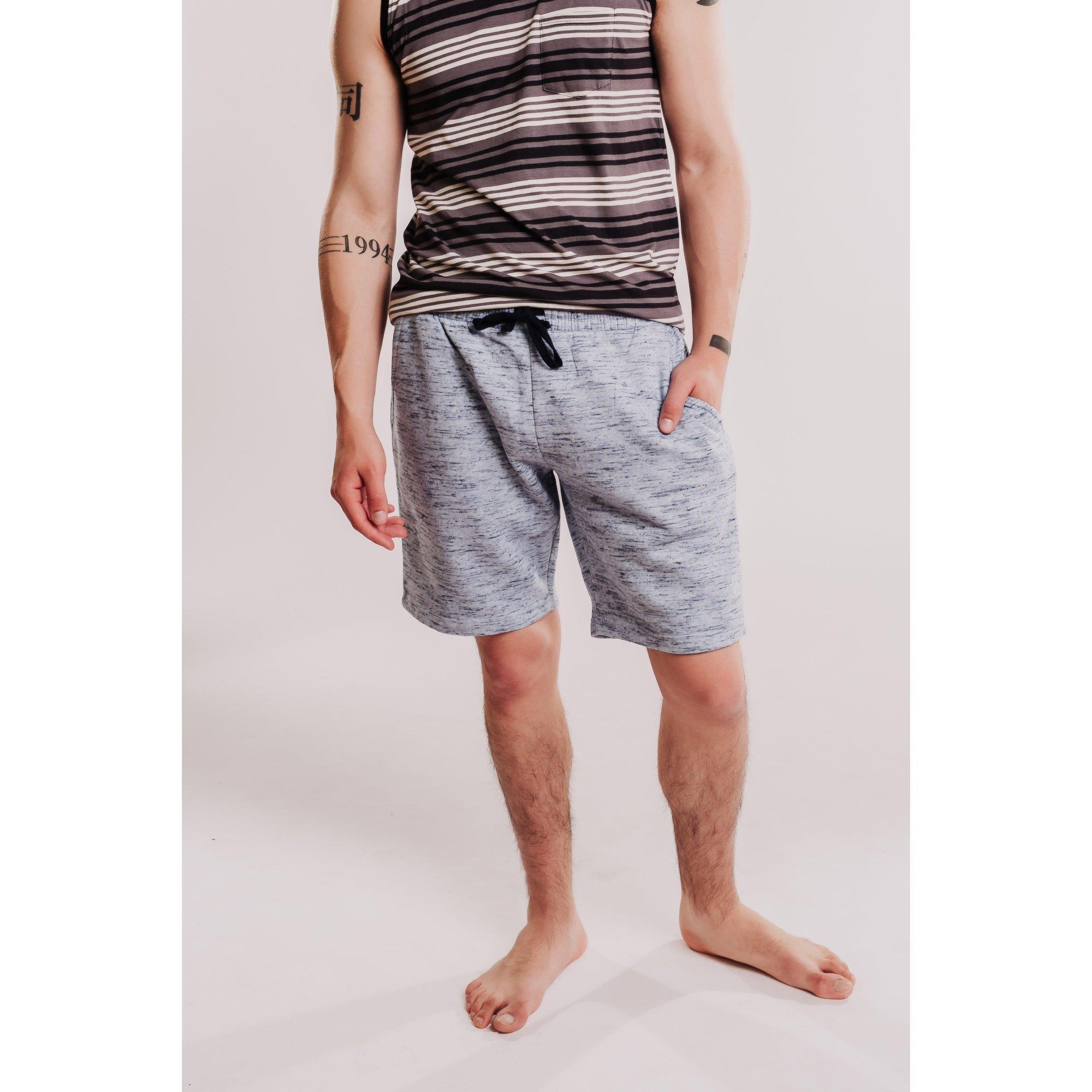 Mens Fleece Lounge Shorts-OneTrail Gear