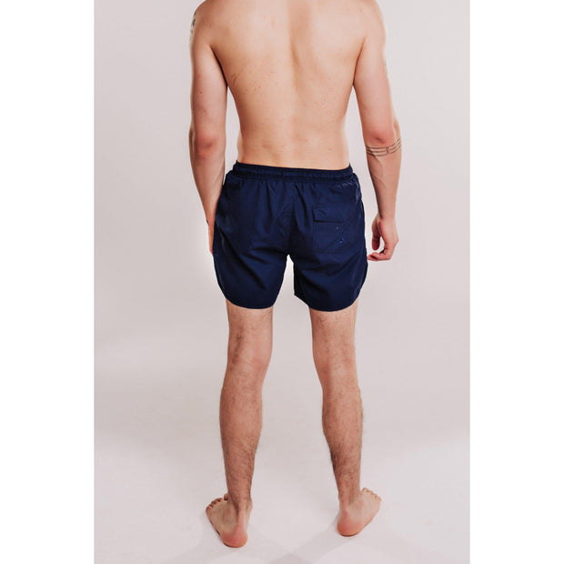 Mens Solid Beach Short - Navy-OneTrail Gear