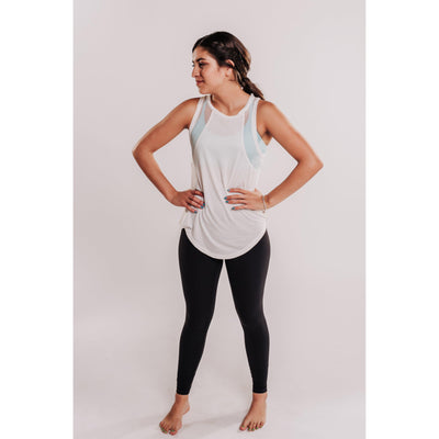 Women's Relaxed Tank with Mesh Fabric-OneTrail Gear