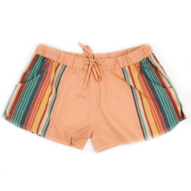 Women's Vertical Stripe Shorts-OneTrail Gear